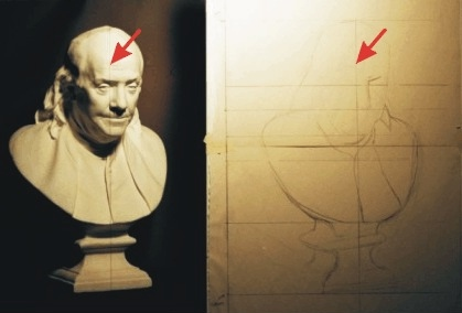 Image from Article: Drawing with the Sight-Size Method, by Ben Rathbone